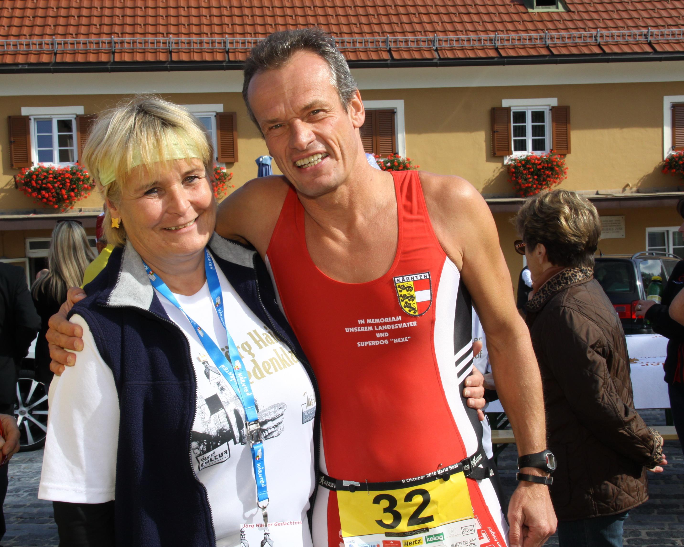 Jörg Haider Claudia Haider-Hofmann